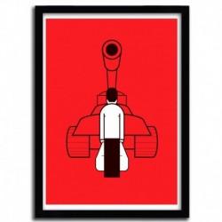 Affiche TANKMAN par Ale Giorgini