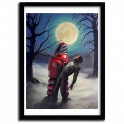Affiche WOLF MAN par ERIC JOYNER