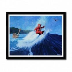 Affiche SURF JOE par ERIC JOYNER