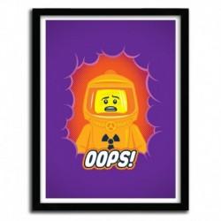 Affiche OOPS by VICTORSBEARD