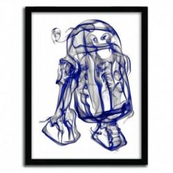 Affiche R2D2 par OCTAVIAN MIELU