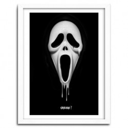 Affiche SCREAM by Nicolas Obery FANTASMAGORIK