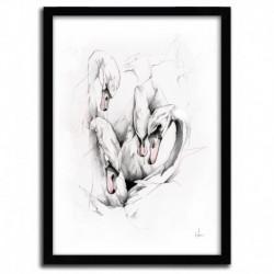 Affiche SWANS par ALEXIS MARCOU