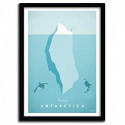 Affiche Antartica par Henry Rivers