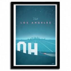 Affiche Los Angeles par Henry Rivers