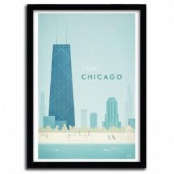 Affiche Chicago par Henry Rivers