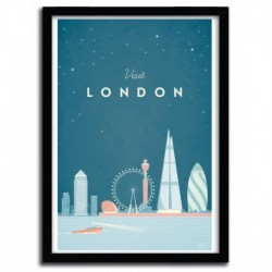 Affiche LONDON par Henry Rivers