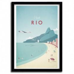 Affiche RIO par Henry Rivers
