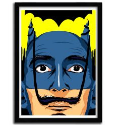 dali batman by B. BILLY