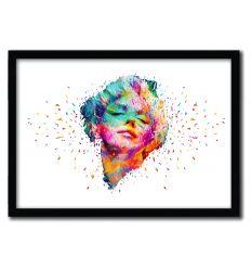 Affiche Marilyn Monroe White par Alessandro Pautasso