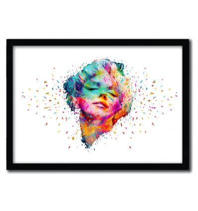 Marilyn Monroe White par Alessandro Pautasso