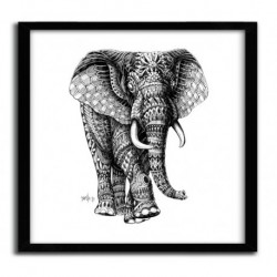 Affiche ORNATE ELEPHANT 2 BY BIOWORKZ