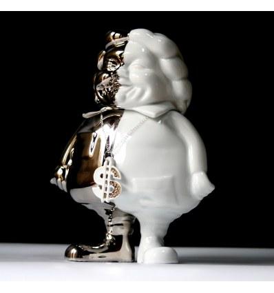 Sculpture Mc Supersized Platinum by Ron English