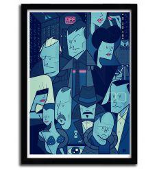 Affiche Blade Runner par Ale Giorgini