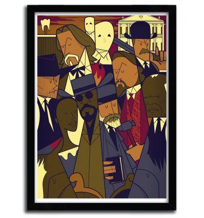 Affiche django par Ale Giorgini