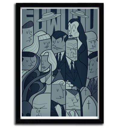Affiche edwood par Ale Giorgini