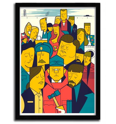 Affiche fargo par Ale Giorgini