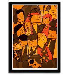 Affiche goonies par Ale Giorgini