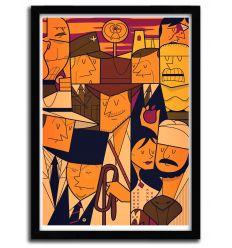 Affiche indy par Ale Giorgini