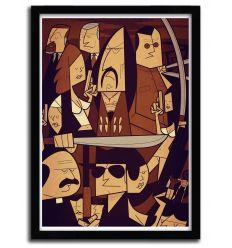 Affiche machette par Ale Giorgini