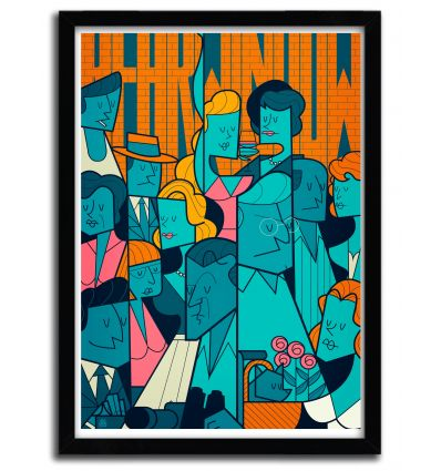 Affiche REAR WINDOW par Ale Giorgini