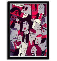 Affiche rocky horror par Ale Giorgini