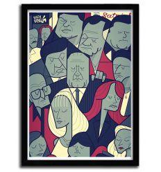 Affiche soprano par Ale Giorgini
