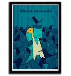 Affiche the birds par Ale Giorgini