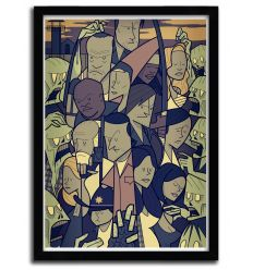 Affiche THE WALKING DEAD par Ale Giorgini