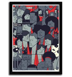 Affiche the warriors par Ale Giorgini