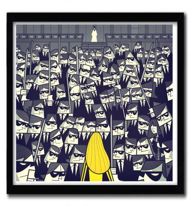 Affiche kill bill 2 par Ale Giorgini
