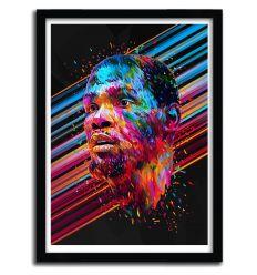 Affiche Kevin Durant par Alessandro Pautasso