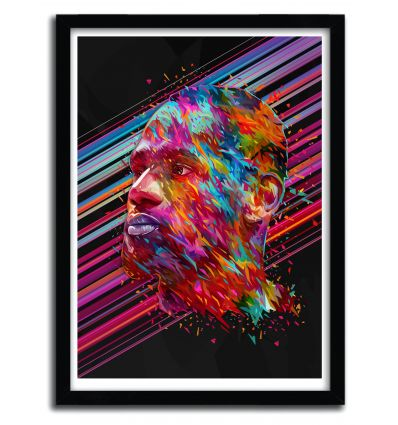 Affiche LeBron James par Alessandro Pautasso