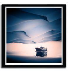 Affiche desertir by Eugene Soloviev