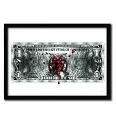 Affiche dollar akbar par Rubiant