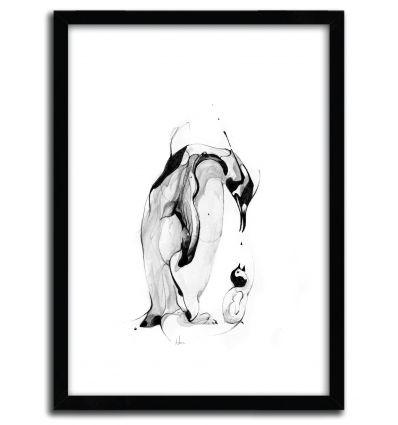 Affiche Penguin Fuel par ALEXIS MARCOU