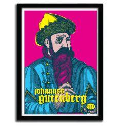 Affiche Gutenberg par Francesco Stefanini