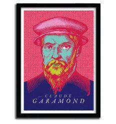 Affiche Garamond par Francesco Stefanini