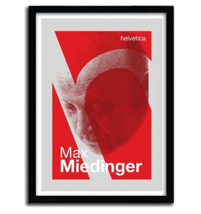 Affiche Miedinger par Francesco Stefanini