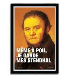 Affiche Stendhal par FISTS ET DES LETTRES
