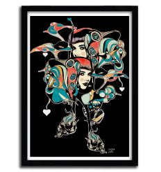 Affiche sophia tresor de lumiere par Giulio Iurissevich