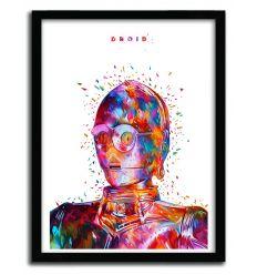 Affiche DROID White par Alessandro Pautasso