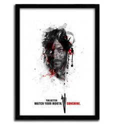 Affiche shadow collection daryl par JULIEN KALTNECKER