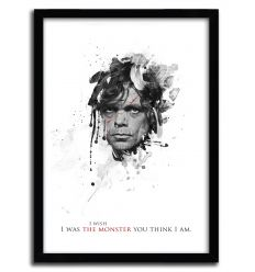 Affiche shadow collection tyrion par JULIEN KALTNECKER
