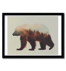 Affiche Norwegian Woods Brown Bear par ANDREAS LIE