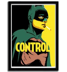 Affiche bat control par B. BILLY