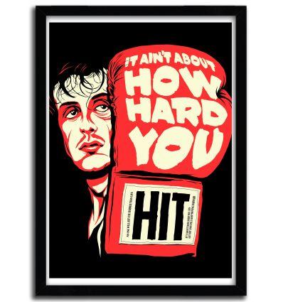 Affiche how hard you hit par B. BILLY