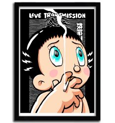 Affiche live transmission par B. BILLY