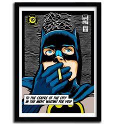 Affiche shadow play smoke by BUTCHER BILLY
