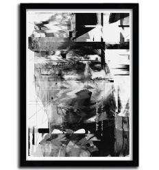 Affiche Kurt Cobain par Nicebleed